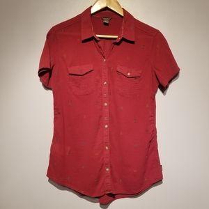 Eddie Bauer Short Sleeve Button Down Shirt
